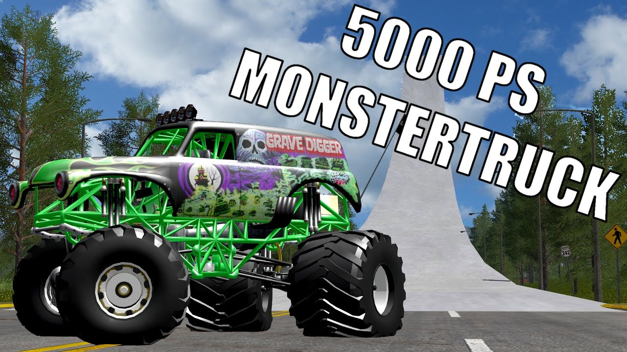 5000 ps monster truck farming simulator 2017. Black Bedroom Furniture Sets. Home Design Ideas