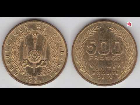 Lacagta Jabuut:::::Argent Franc Djibouti