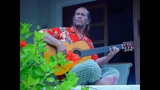 """Paco said: """"I am the bridge between the tradition and modernity in flamenco guitar""""/Intv 1 comm Diaz"""