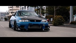 Shirasaka's R33 GT-R LM in the streets of Tokyo | 4K