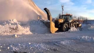 Winter 2015 Fastrac 8310 + Beaulieu 10 feet snowblower.