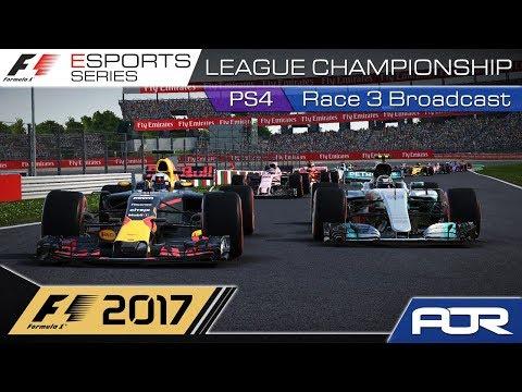 F1 Esports Series 2017: PS4 League Championship - Race 3 - Japan