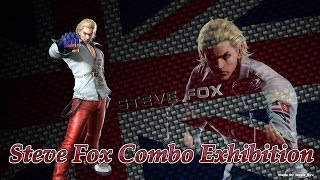 Tekken Tag Tournament 2- Steve Fox Combo Exhibition
