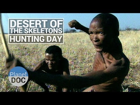 Desert of Skeletons. Hunting Day | Tribes - Planet Doc Full Documentaries