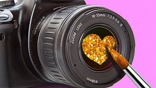 PHOTO HACKS FOR BEGINNERS || 25 WAYS TO CREATE A PERFECT SHOT