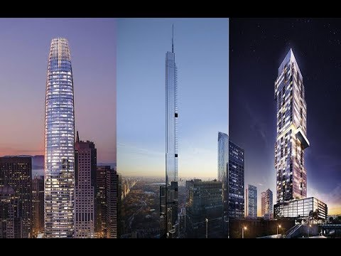 Top 10 Tallest Buildings in USA by City Ranking (Under Construction)