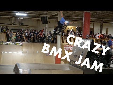 BMX Jam At Skaters Edge!