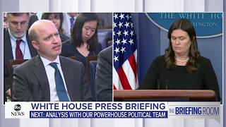 White House press briefing on Trump, Pres. Moon meeting and Korea Summit | ABC News