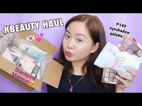 Beauty Haul! 💜(Blackpink Makeup!) + 149 PHP EB Palette😱 & Trending Whipp Soap!!