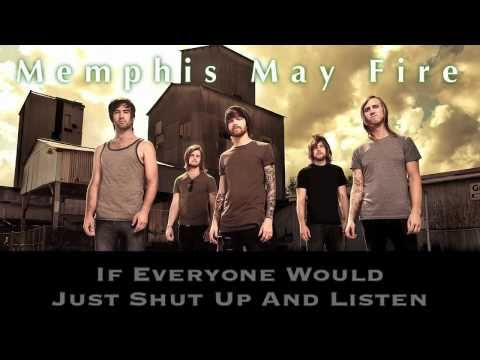 "Memphis May Fire ""Be Careful What You Wish For"" WITH LYRICS"