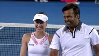 Pavlyuchenkova/Inglot v Hingis/Paes highlights (1R) | Australian Open 2016