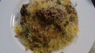 Kache Gosh Ki Biriyani Recipe