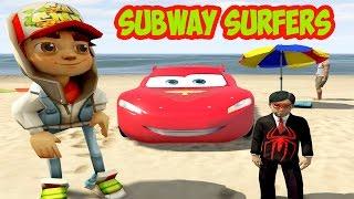 Örümcek Çocuk ve Şimşek Subway Surfers Jake ile Tanışıyor (GTA 5 Hikaye Modu)