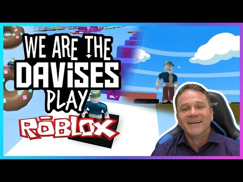 We Are Getting There   Roblox Mega Fun Obby EP-69   We Are The Davises Gaming