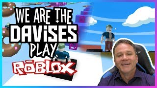 We Are Getting There | Roblox Mega Fun Obby EP-69 | We Are The Davises Gaming