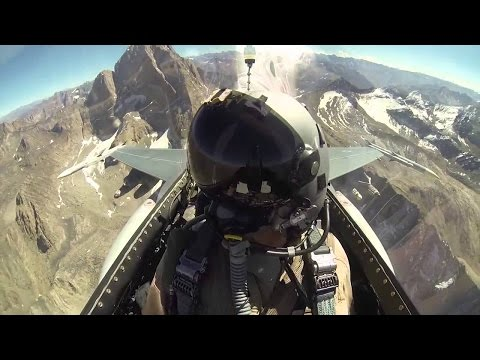 Life Of A Fighter Pilot - An F-16 Falcon Fighter Pilot Documentary