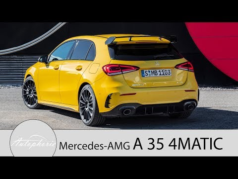 2019 Mercedes-AMG A35 4MATIC (W177): Fast so schnell wie der alte A45 [4K] - Autophorie