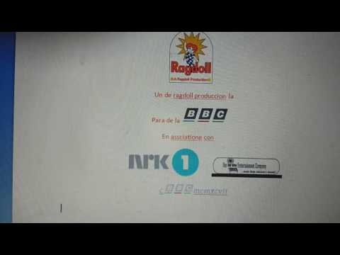 Ragdoll productions BBC NRK 1 the itsy bitsy entertainment company logo