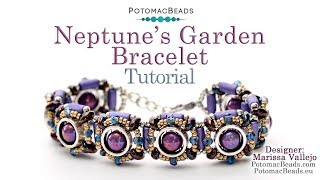 Make Neptune's Garden Bracelet - DIY Jewelry-Making Tutorial by PotomacBeads
