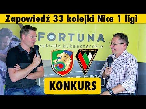 EKSTRAKLASA w Legnicy i Sosnowcu? Zapowiedź 33 kolejki Nice 1 ligi