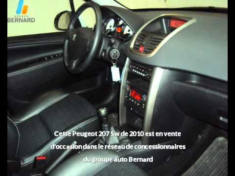 peugeot 207 sw occasion en vente bourg en bresse 01. Black Bedroom Furniture Sets. Home Design Ideas