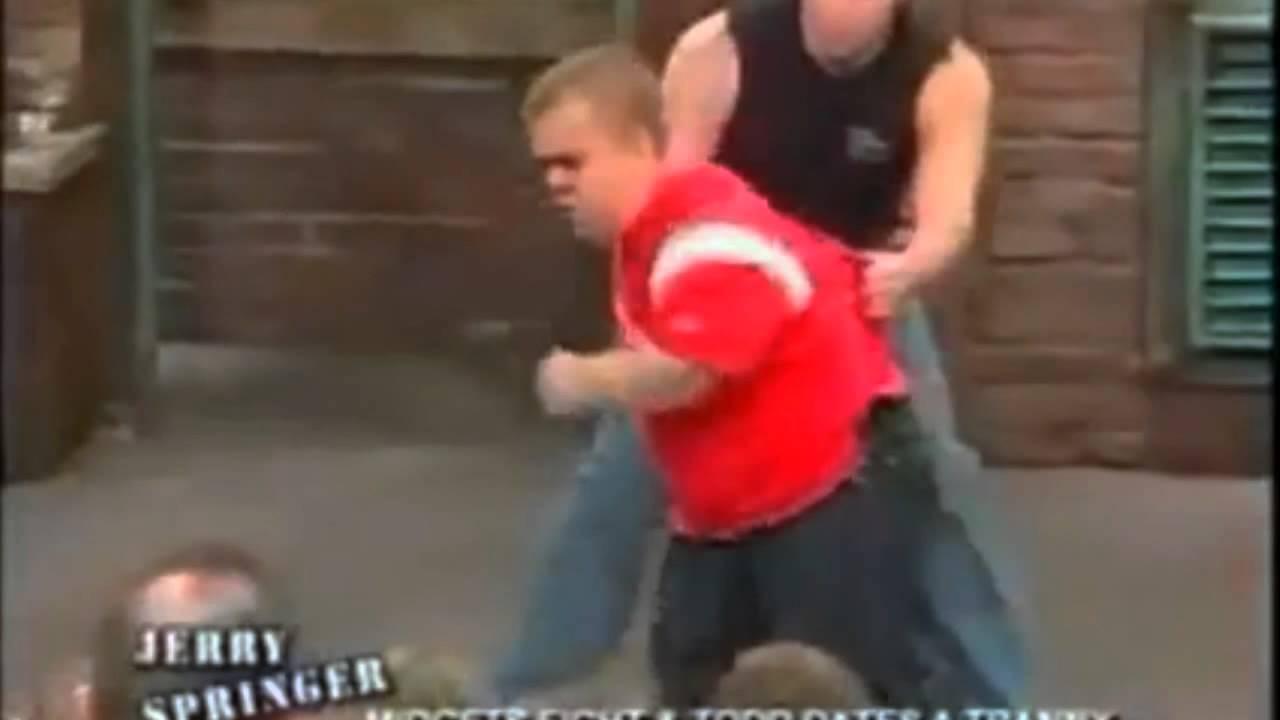 Jerry springer midget wrestling