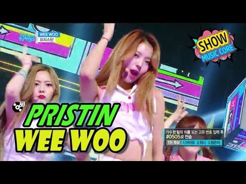 [HOT] PRESTIN - WEE WOO, 프리스틴 - 위우 Show Music core 20170422