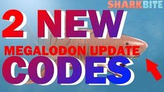NEW CODES & MEGALODON   SharkBite   Roblox