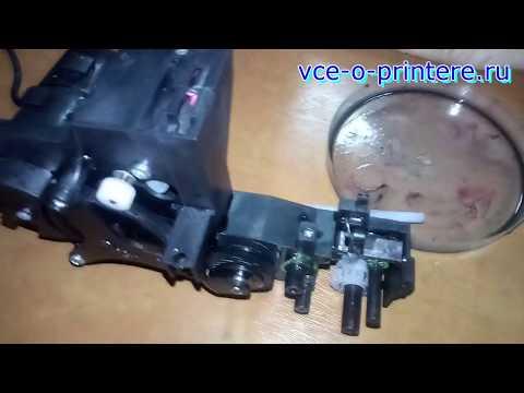 Лекция из мастерской: ремонт помпы (парковочного узла) на струйных принтерах