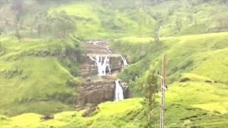 st clair waterfall in sri lanka