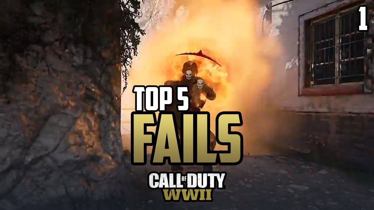 COD WWII: TOP 5 FAILS OF THE WEEK #1 - Call of Duty World ...