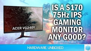 Budget $170 IPS Gaming Monitor: Acer Nitro VG240Y Review