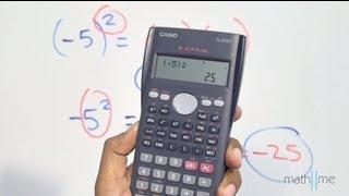 Calcular potencias utilizando una calculadora científica - parte 1 thumbnail