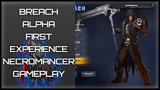 🎆BREACH CoOp Action RPG Alpha Test - First Look Experience (💀Necromancer Gameplay)