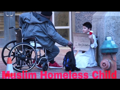 Thumbnail: THE FREEZING HOMELESS MUSLIM CHILD EXPERIMENT! (Social Experiment)