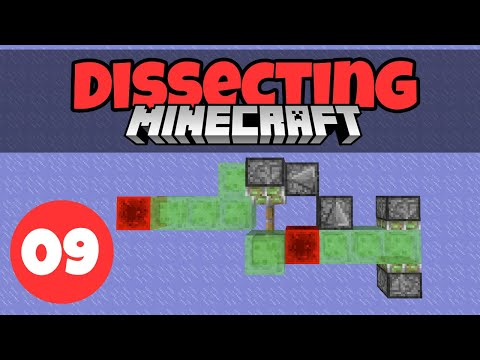 Dissecting Minecraft #9: Flying Machines | Minecraft 1.13