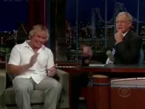 David Letterman - Kevin Robinson, BMX Athlete - Dr. Chao treating physician.