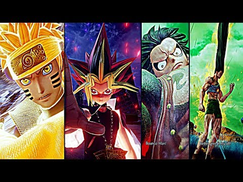 JUMP FORCE (2019) All NEW Character Abilities, Awakening Transformations & Ultimate Attacks So Far