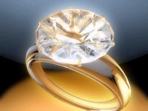 Diamond rings jewellery stock photo. Image of gold, hair 9675496.