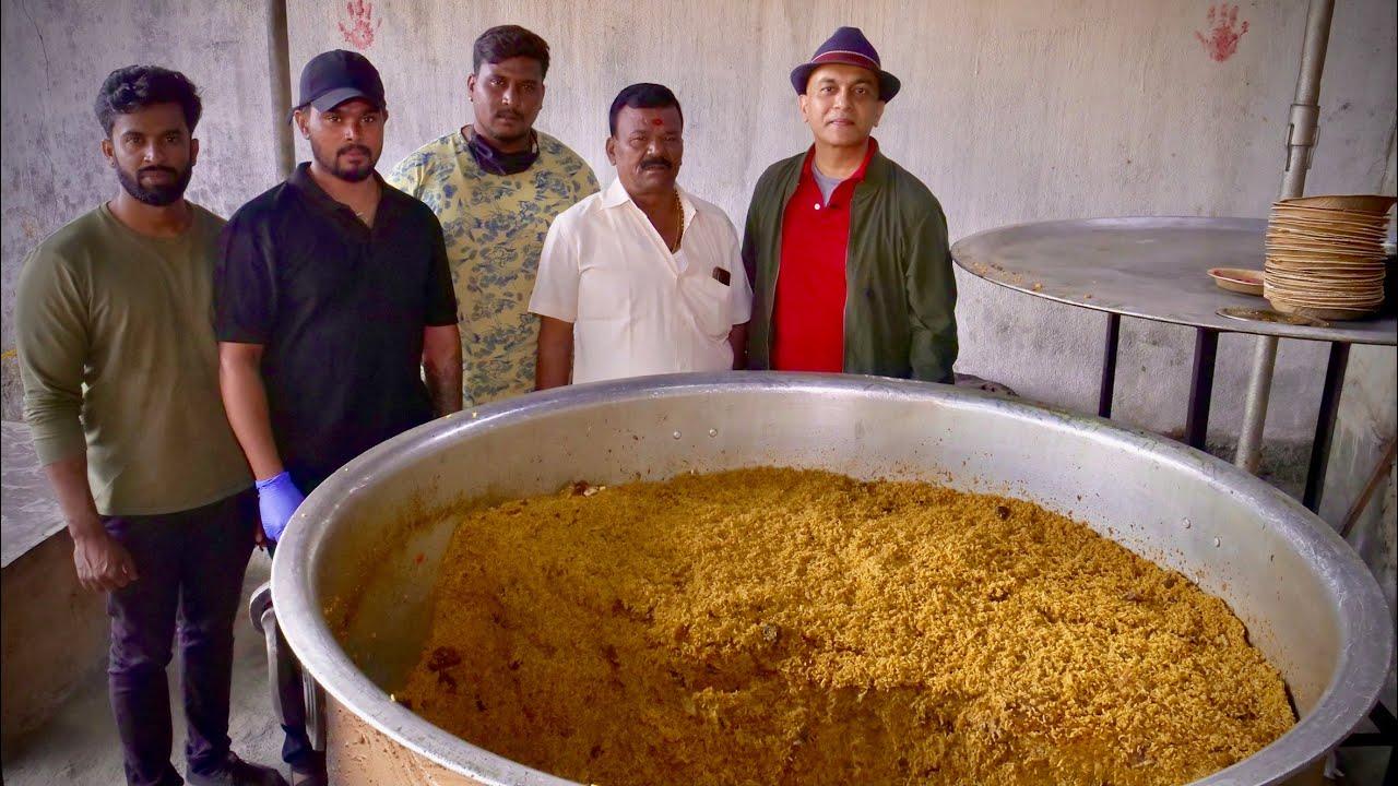 Download MANI DUM BIRYANI HOSKOTE | The Village-Style Biryani That Began The Early-Morning Biryani Tradition!