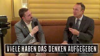 """""""Viele haben das Denken aufgegeben"""": Jörg Guido Hülsmann (Ludwig von Mises Konferenz 2016)"""