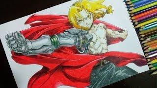 Desenhando o Edward Elric - Fullmetal Alchemist (How to Draw Edward Elric from Fullmetal Alchemist)