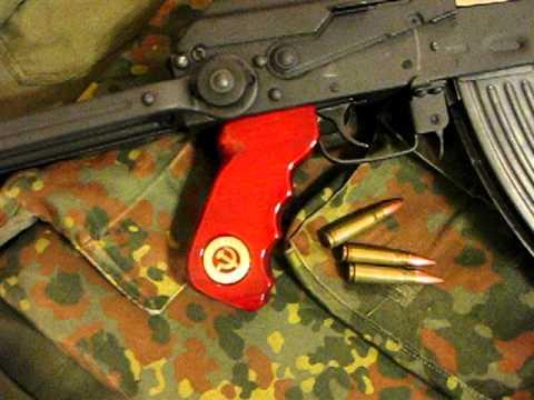 Ak 47 Custom Pistol Grip Yugo M70 Youtube