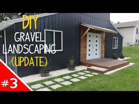 DIY Clean 'n Simple Gravel Landscaping – Part 3 (Update!)