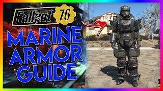 FALLOUT 76 Rare Armor Guide - Marine Armor (Plans+Vendor)