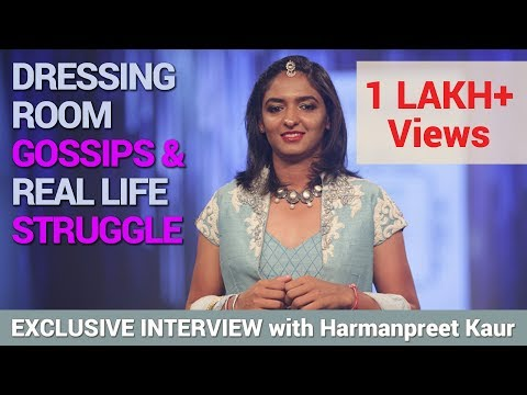 Watch Harmanpreet Kaur talking about dressing room gossips & real life struggle in Different Strokes