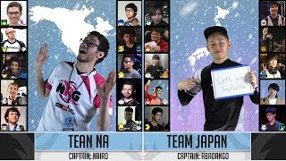 Frostbite 2019 - Japan vs North America Crew Battle