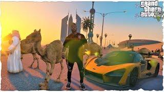 GTA 5 REAL LIFE MOD   #28 FUTBOLISTA ME INVITA A SU FIESTA DUBAI  (REAL FAMILY LIFE MODS)