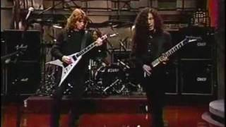Megadeth - Train Of Consequences (Live 1994 David Letterman Show)