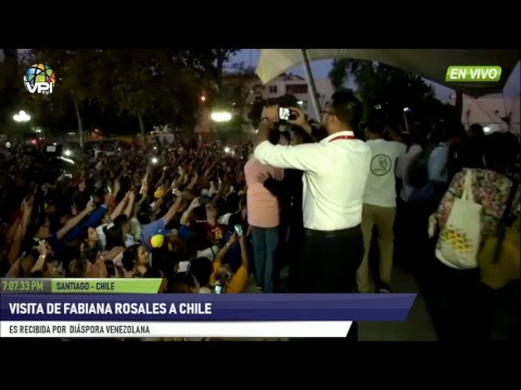 EN VIVO - Fabiana Rosales se reúne con Venezolanos residentes en Chile